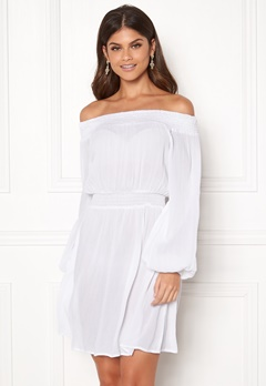 Make Way Krista offshoulder dress White Bubbleroom.se