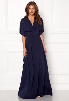 Make Way Lemonie kimono gown Dark blue Bubbleroom.se