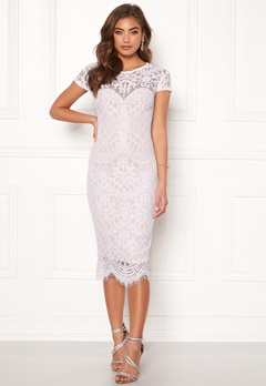 Make Way Lisa lace dress White / Beige Bubbleroom.se