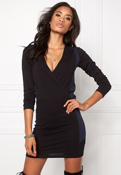 Make Way Lizzie Dress Black / Blue Bubbleroom.no