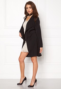 Make Way Luwana Spring  Coat (Ladies) Black Bubbleroom.eu