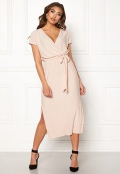 Make Way Lyla dress Beige Bubbleroom.se