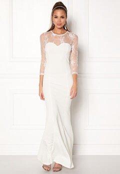 Make Way Melody Dress White Bubbleroom.se