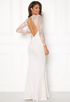 Make Way Melody Dress White Bubbleroom.fi