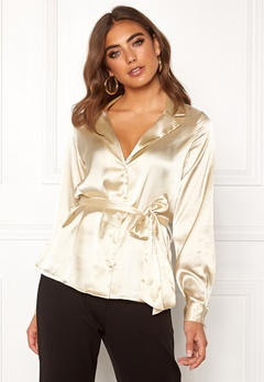 Make Way Meya blouse Champagne Bubbleroom.se