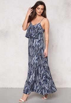 Make Way Milana Dress Dark blue / White / Patterned Bubbleroom.eu