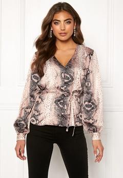 Make Way Miriam blouse Animal print Bubbleroom.se