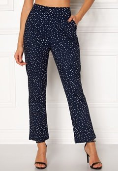 Make Way Nadine trousers Blue / White / Dotted Bubbleroom.se