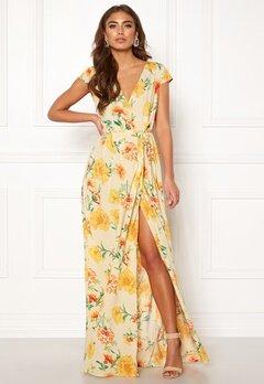 Make Way Odette dress Beige / Floral Bubbleroom.se