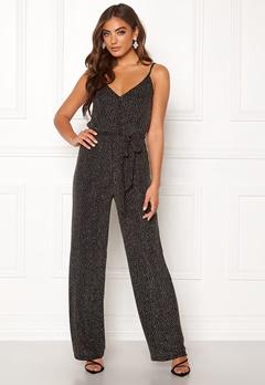 Make Way Ohannah sparkling jumpsuit Black / Silver Bubbleroom.se
