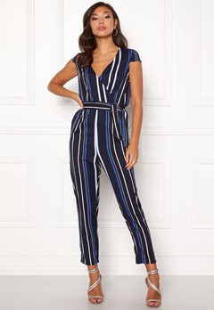 Make Way Patrina jumpsuit Blue / White / Striped Bubbleroom.se