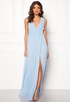 Make Way Prudence maxi dress Light blue Bubbleroom.se