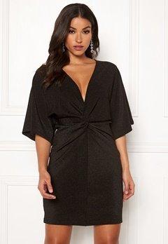 Make Way Rhea sparkling dress Black Bubbleroom.se