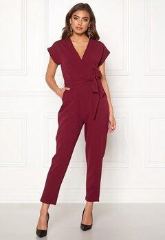 Make Way Rue jumpsuit Wine-red Bubbleroom.se