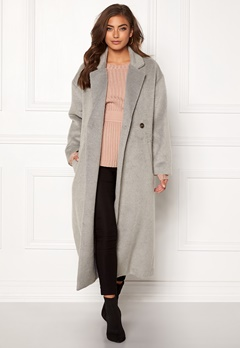 Make Way Ruth long coat Light grey Bubbleroom.se