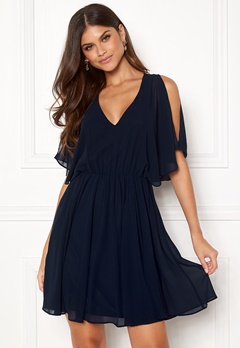 Make Way Sabine dress Dark blue Bubbleroom.se
