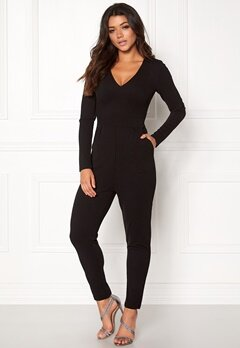 Make Way Sadie Jumpsuit Black Bubbleroom.fi
