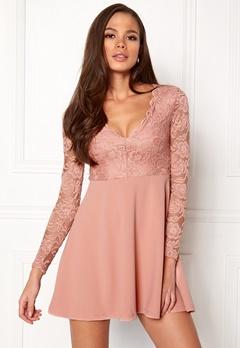 Make Way Shelby Dress Dusty pink Bubbleroom.se