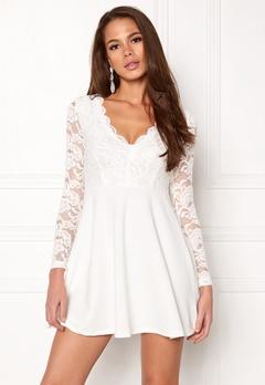 Make Way Shelby Dress White Bubbleroom.se