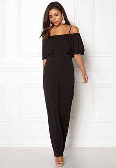 Make Way Susan jumpsuit Black Bubbleroom.se