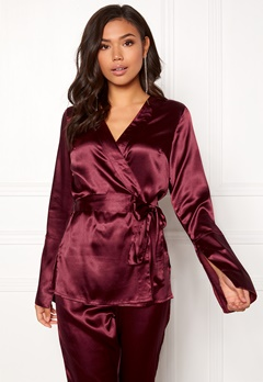 Make Way Tomika jacket Wine-red Bubbleroom.se