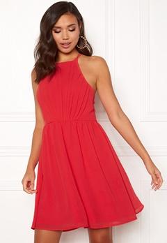 Make Way Vania dress Raspberry red Bubbleroom.se