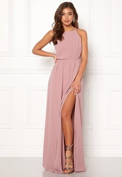 Make Way Vania maxi dress Old rose Bubbleroom.se