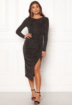 Make Way Olieve sparkling dress Black Bubbleroom.se
