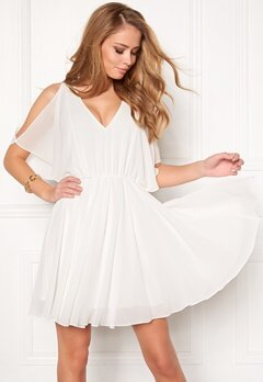 Make Way Sabine Dress White Bubbleroom.eu