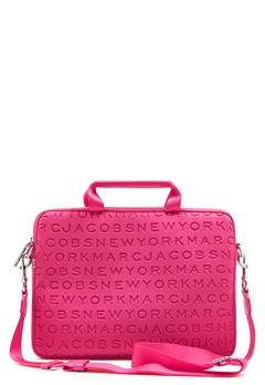 "Marc Jacobs Computer Case 13"" Punch Pink Bubbleroom.se"