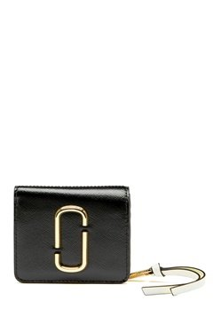 Marc Jacobs Mini Compact Wallet Black Multi Bubbleroom.se