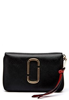 Marc Jacobs Small Standard Wallet 014 Black Bubbleroom.se