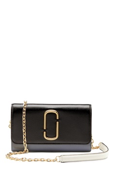 The Marc Jacobs Wallet on Chain 002 Black Multi Bubbleroom.se