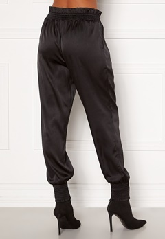 Martine Lunde X Bubbleroom Satin joggers  Black Bubbleroom.se