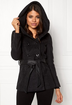 ONLY mary lisa short wool coat black Bubbleroom.se