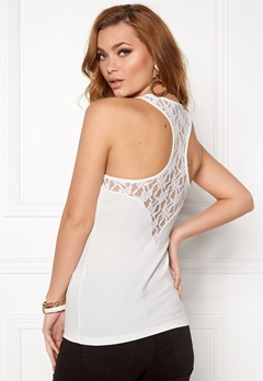 VERO MODA Maxi My Soft Lace Boxer Snow White Bubbleroom.fi