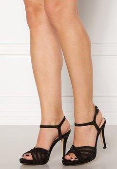 Menbur Glitter Sandals Black Bubbleroom.se