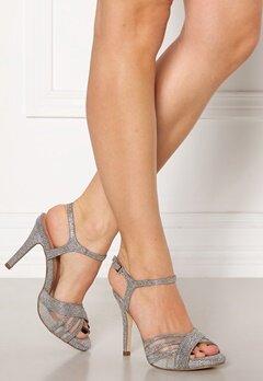 Menbur Glitter Sandals Silver Bubbleroom.se