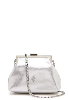 Menbur Glitter Soft Bag Silver Bubbleroom.se