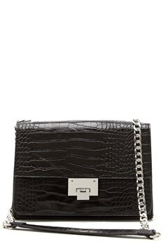 NORR by Erbs Meo Crossbody Black Croco Bubbleroom.se