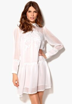 In Wear Meyas Dress Pure White Bubbleroom.no