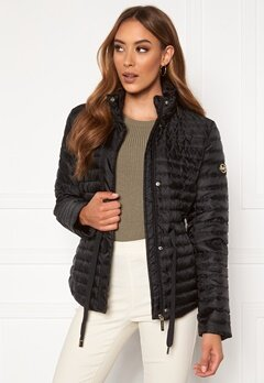 Michael Michael Kors Belted Puffer Jacket Black Bubbleroom.se