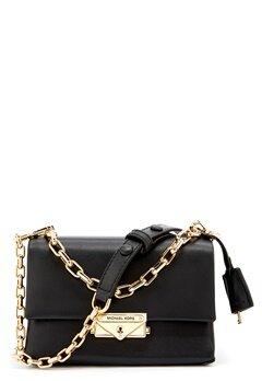 Michael Michael Kors Cece Chain Crossbody Bag Black Bubbleroom.se