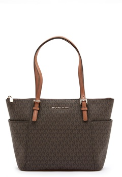Michael Michael Kors Jet Set Tote Bag 252 Brown/Acorn Bubbleroom.se