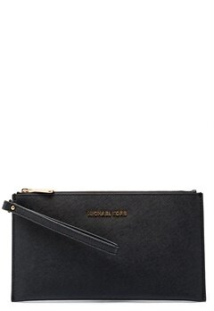 Michael Michael Kors Jet Set Travel Zip Clutch Black Bubbleroom.fi