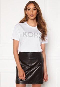 Michael Michael Kors Kors Graphic T-Shirt 100 White Bubbleroom.se