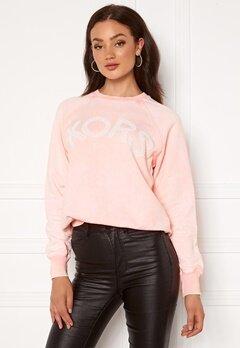 Michael Michael Kors Kors Logo Sweatshirt Powder Blush Bubbleroom.se