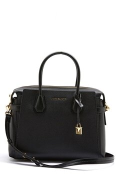 Michael Michael Kors Mercer Belted Bag Black Bubbleroom.se