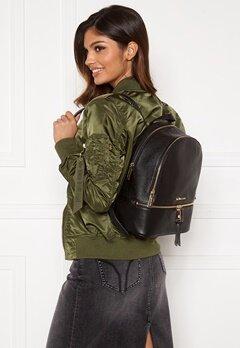 Michael Michael Kors Rhea Zip Backpack 001 Black Bubbleroom.se