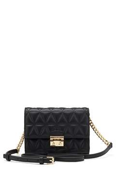 Michael Michael Kors Ruby Mid Clutch Quilted Bag 001 Black Bubbleroom.se